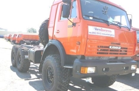 КАМАЗ 43114 (6x6)