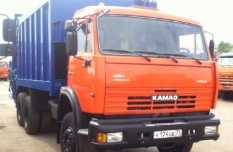 Мусоровоз КАМАЗ 65115 б/у
