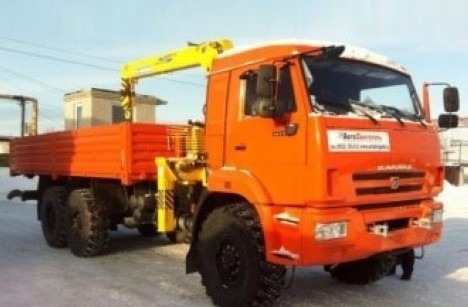 Бортовой КАМАЗ 43118 с КМУ Soosan SCS736