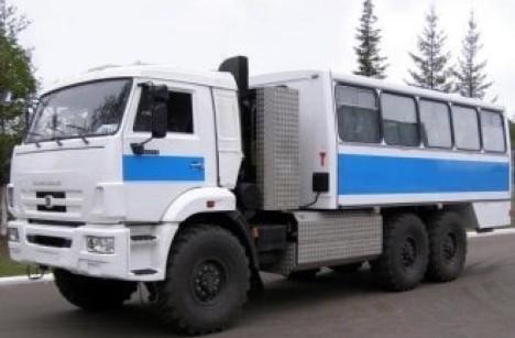 Автобус вахтовый НЕФАЗ-4208