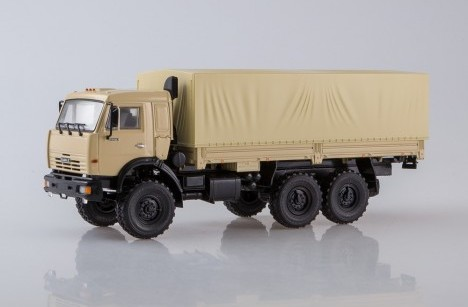 Масштабная модель КАМАЗ 43118