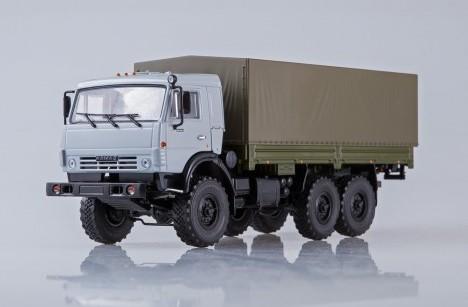 Масштабная модель КАМАЗ 53501 Мустанг