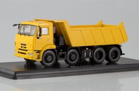Масштабная модель КАМАЗ 6540 самосвал