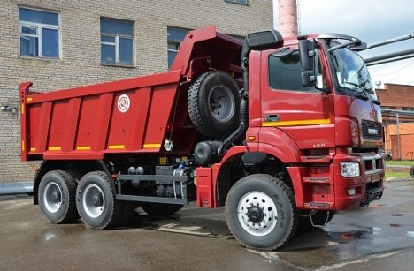 КАМАЗ 65802-153001-87