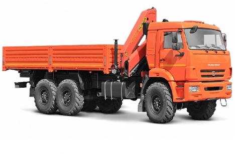 Бортовой  КАМАЗ 43118 с КМУ Palfinger РК-15500А