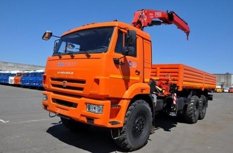 Бортовой КАМАЗ 43118 с КМУ FASSI F245A.0.22