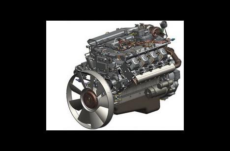 Двигатель КАМАЗ 740.71-320