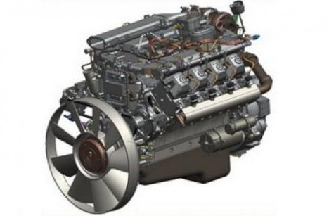 Двигатель КАМАЗ 740.73 - 400 Евро 4