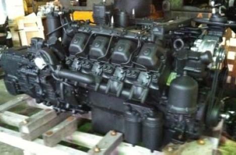 Силовой агрегат КАМАЗ 740.11-300 с КПП 152