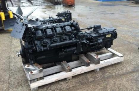 Силовой агрегат КАМАЗ 74009.10-300 т с 15 КПП