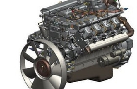 Двигатель КАМАЗ 740.75-440