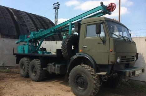 Буровая установка УРБ 2А-2 на шасси КАМАЗ 43118