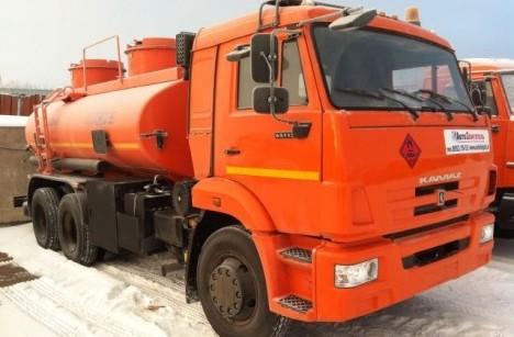 Автоцистерна НЕФАЗ 66052-15