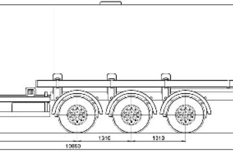 Бензовоз Сеспель 96484D 40 м.куб