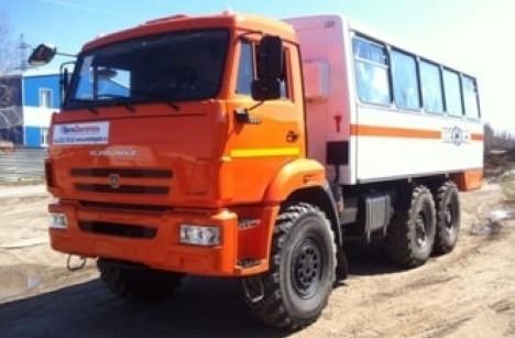 Вахтовый автобус НЕФАЗ 4208-0000011-13