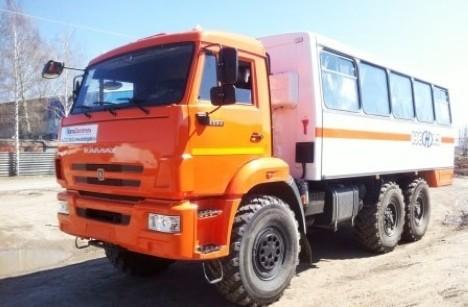 Вахтовый автобус НЕФАЗ 4208-0000010-15