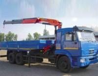 Бортовой КАМАЗ 65117-23 с КМУ Palfinger РК-15500А