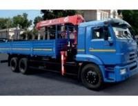 Бортовой  КАМАЗ 65117-23 с КМУ Unic UR V-504
