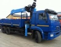 Бортовой КАМАЗ 65117-23 с КМУ DONG YANG SS1926