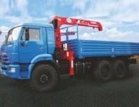 КАМАЗ 43118-46 с КМУ Unic UR V-503