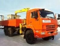 Бортовой КАМАЗ 43118-10 с КМУ Soosan SCS736