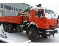 Бортовой КАМАЗ 43118-10 с ГМУ ЛВ 185-14 (АТЛАНТ-С 90)