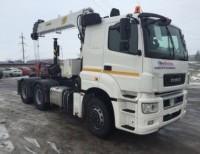 КАМАЗ 65206 с КМУ ИТ 180