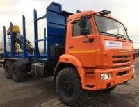 Сортиментовоз КАМАЗ 43118 с ГМУ VM10L74