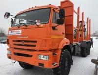 Сортиментовоз на шасси КАМАЗ-43118 с ГМУ ЛВ 185-14