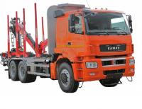Сортиментовоз КАМАЗ 6580 с ГМУ EPSILON M100L97