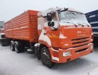 КАМАЗ 65115 ЗЕРНОВОЗ (34куб.м.)