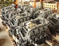 Силовой агрегат КАМАЗ 7409.10-303 (Урал) с КПП 14