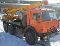 Буровая установка УРБ 2А2 на шасси КАМАЗ 43114