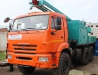 Буровая устанока УРБ 2А2 на шасси КАМАЗ 5350