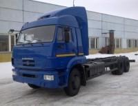 Шасси КАМАЗ 65117-3010-23 (A4)