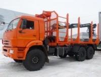 Сортиментовоз КАМАЗ 43118 с СФ-75С Евро 4